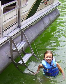 Tooner II Pontoon Ladder
